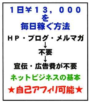 『1日¥13,000を毎日稼ぐ方法』