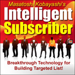 儲かるダイレクトメールマーケティングを展開して頂く為に開発された、最新のターゲット化されたリスト構築システム。それが「Intelligent Subscriber」です!!