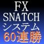 FX為替予想システムスナッチ●最適なポジションを完全ナビ!●売買プログラム付き。