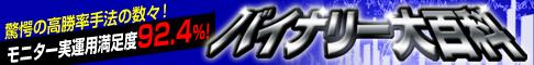 【裁量で稼ぐ】バイナリー大百科