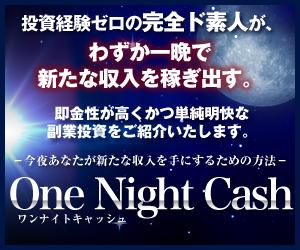 ワンナイトキャッシュ-OneNightCash-