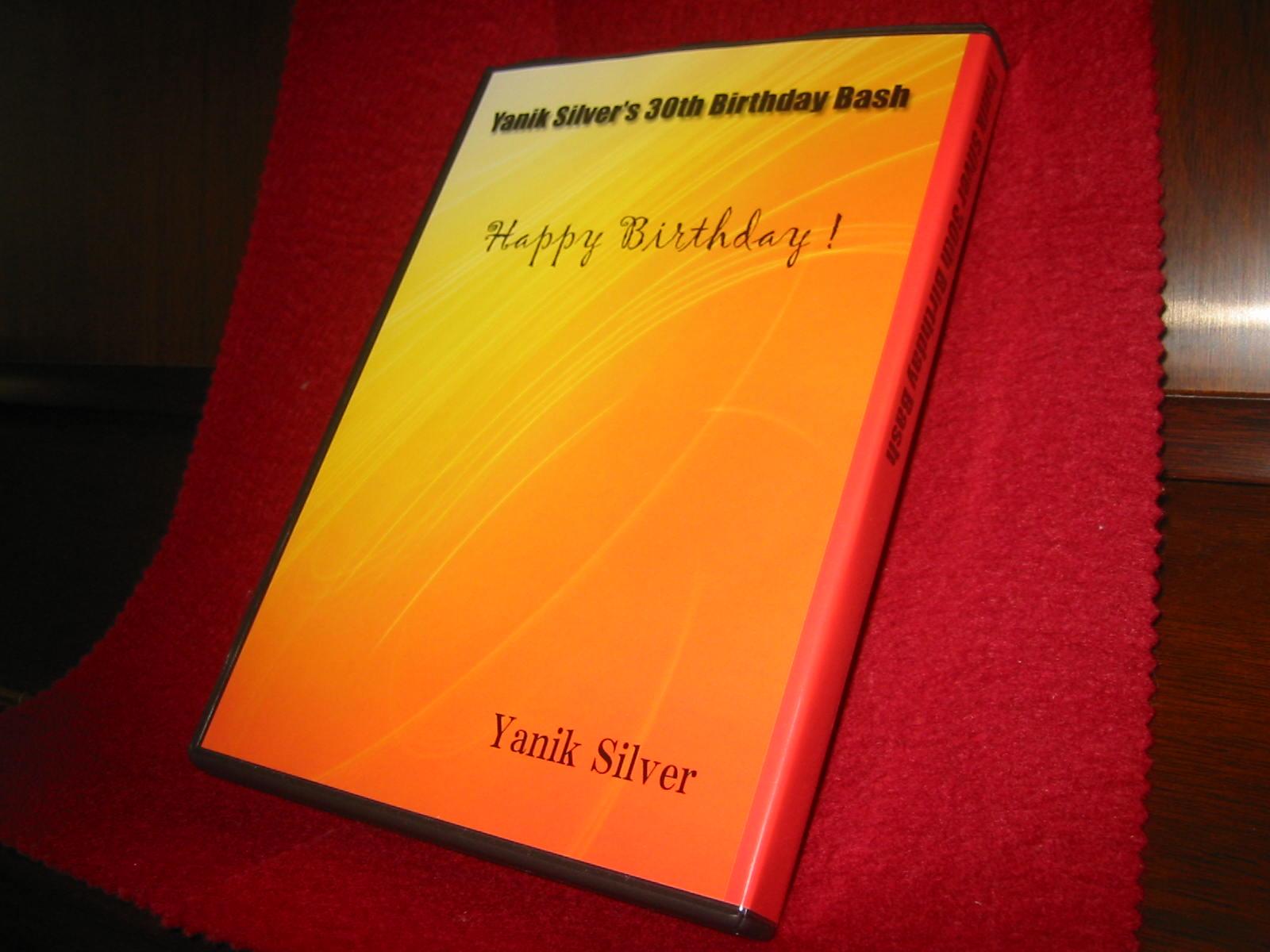 ヤニクシルバー30歳バースデイ記念セミナーDVD