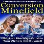 「コンヴァージョンマインフィールド」!ウェブサイトの訪問者を購入者に変える100の確実な方法!