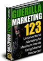 ゲリラマーケティング123[E-Book版+MP3版]【最小限の資源(お金と物)で最高の結果を生むために考案された、マーケティングテクニック!】