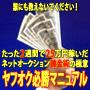 ヤフオク必勝マニュアル たった2週間で25万円稼いだネットオークション錬金術の極意