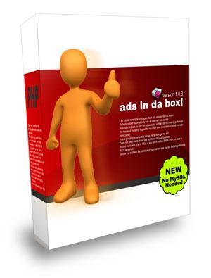 ローテーション広告が簡単に掲載できるAdsInDaBoxLiteモニター
