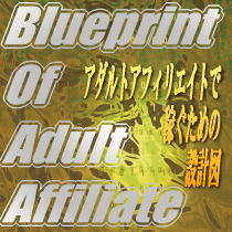 Blueprint of adult affiliate【ツールセット】毎月限定30セットのみ