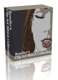 ◆webサイト見栄え向上キット◆「Reseller's Clip Art MEGA Collection」&「356 Web Templates」&「Money Making Flash Designs in a Box」