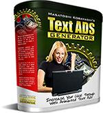 Text ADS Generatorあなたのセールスレターや宣伝広告をトップクラスの変身させる