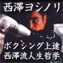 ボクシングの歴史を変えた男不屈の世界王者西澤ヨシノリ ボクシング上達&西澤流人生論DVD【Never say can't】