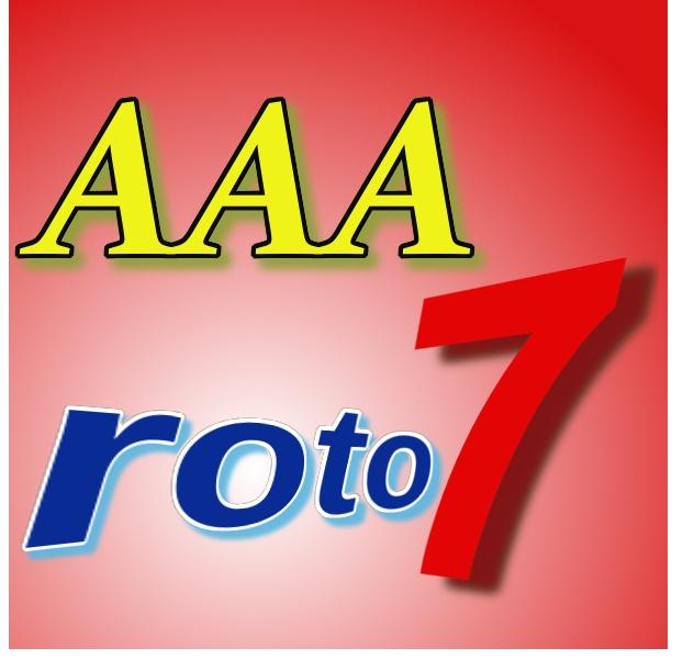 AAA roto7  数字の選び方