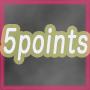 5pointsプログラム。の画像