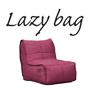 LAZY BAG 369-CF 肘無ウレタンソファー ピンク色