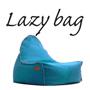 LAZY BAG 323-BB ビーズクッションソファ ブルー色