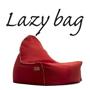 LAZY BAG 323-BB ビーズクッションソファ レッド色