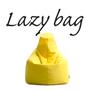 LAZY BAG 386-BB ビーズクッションソファ イエロー
