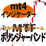 マルチタイムフレーム ボリンジャーバンド/メタトレーダー(MT4)用インジケーターからFXデイトレードの知恵袋VOL.1他