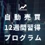 株の自動売買 〜12週間習得プログラム〜 <VISA / MASTER24分割対応>