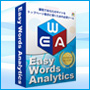 """キーワード解析ツール『イージー・ワーズ・アナリティクス""""EWA""""』""""効率的かつシステマティックに""""あなたのサイトを最短でトップページ表示に導くための必須ツール"""